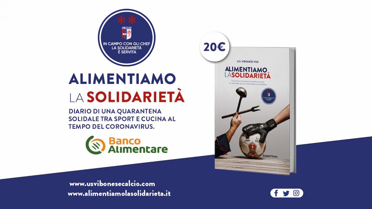 Alimentiamo la solidarietà: il libro - Vibonese Calcio X BA
