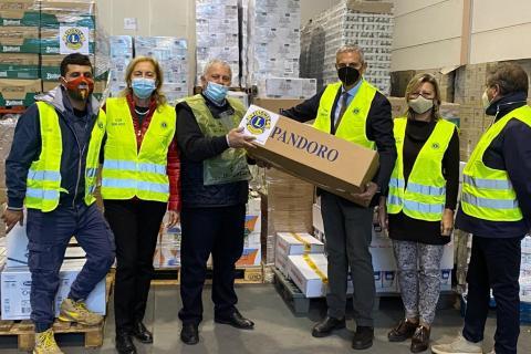 BANCO ALIMENTARE UMBRIA - DONAZIONE LIONS CLUB TERNI HOST