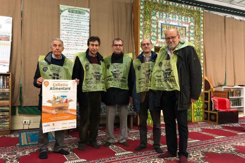 Presentazione #Colletta19 in Moschea!