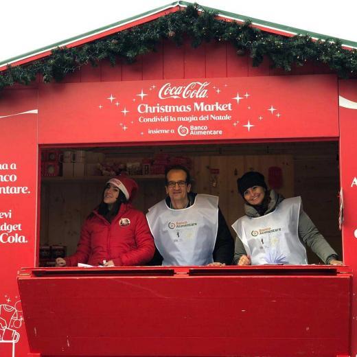 Coca-Cola insieme a Banco Alimentare